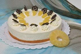 Ananas sahnetorte